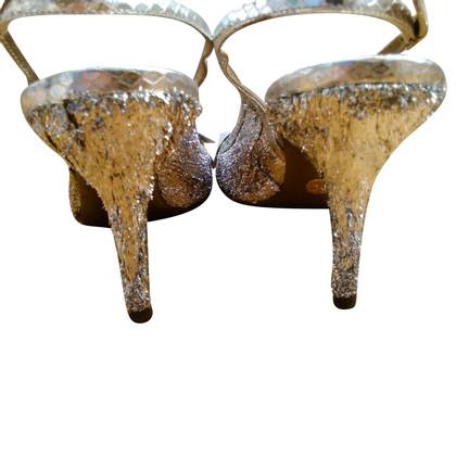 Dolce & Gabbana DOLCE & GABBANA silver colored sandal