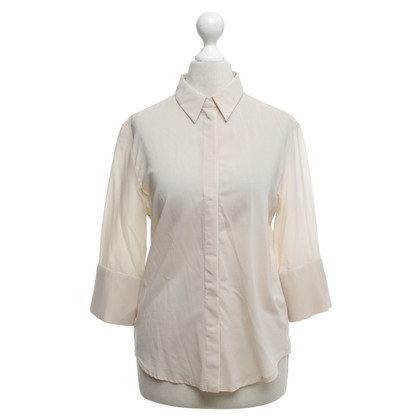 Hugo Boss nude coloured blouse