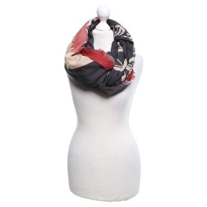 Alexander McQueen Fringed sjaal