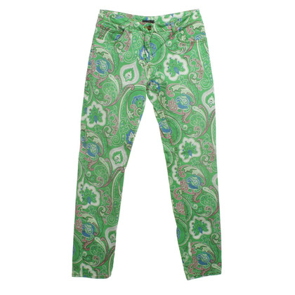 Etro Jeans mit Paisley-Muster