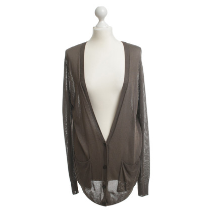 Dries van Noten Cardigan in khaki