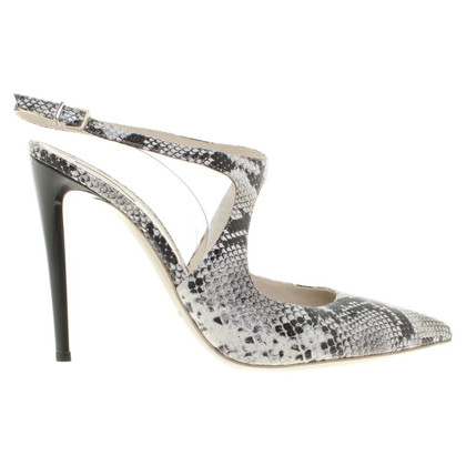 Giorgio Armani pumps reptiel optica