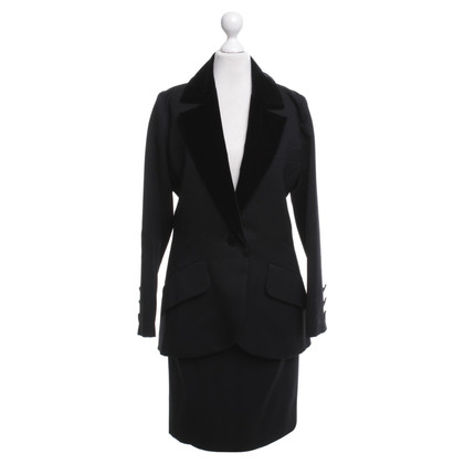 Saint Laurent Costume in nero