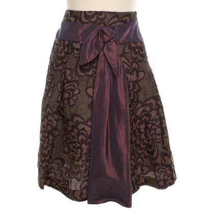 Tara Jarmon skirt with pattern