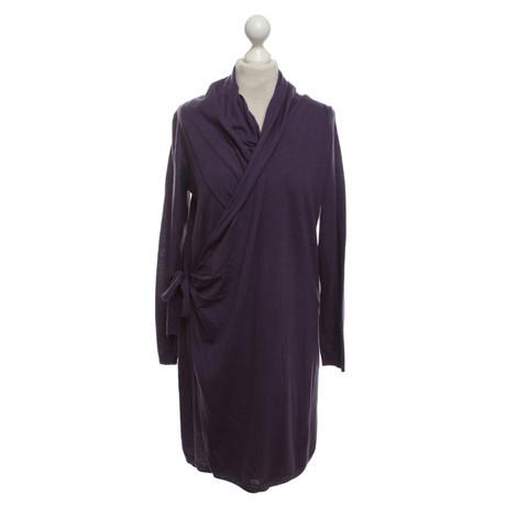Violett Hoss Intropia Kleid Intropia Hoss Kleid aus Merinowolle r7U0rq