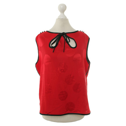 Marc Jacobs Silk blouse in red