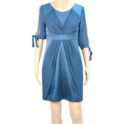 Karen Millen Silk dress in turquoise