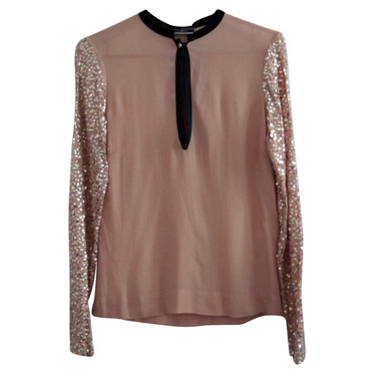 By Malene Birger Blouse met pailletten