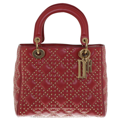 Christian Dior Lady Dior in red