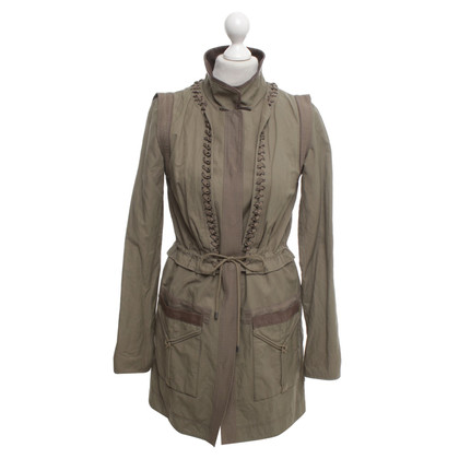 Elie Tahari Coat in khaki