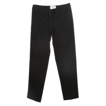 Kilian Kerner Pantalons de laine Pinstripe