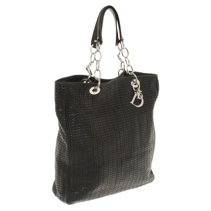 Christian Dior Tote Bag with Braided