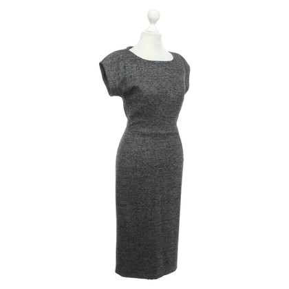 Alessandro Dell'Acqua Dress with salt pepper pattern