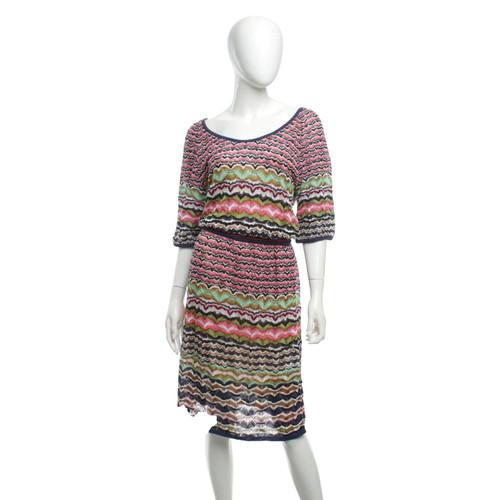 Missoni Kleid in Multicolor - Second Hand Missoni Kleid in ...
