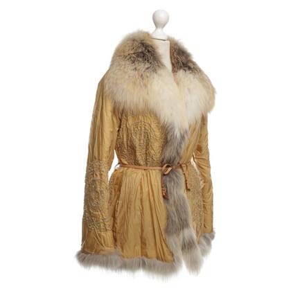 Ermanno Scervino Golden jacket