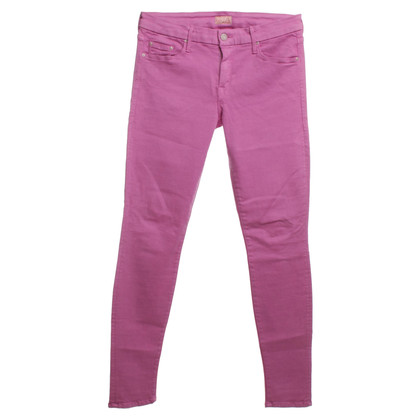 Mother Jeans in roze