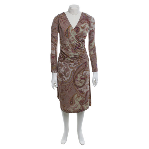 153a7025a32 Etro Robe avec motif cachemire - Acheter Etro Robe avec motif ...