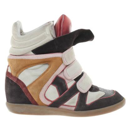Isabel Marant Sneaker wedges in Multicolor