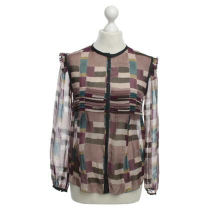 Hoss Intropia Silk blouse with print