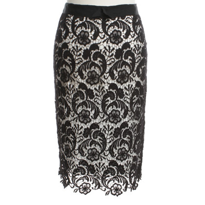 St. Emile Pencil skirt with lace