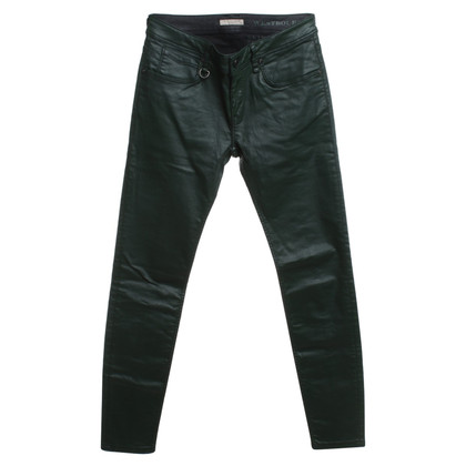 Burberry trousers in dark green
