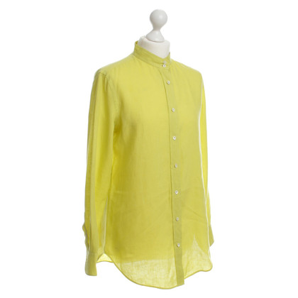 Loro Piana Blouse in neon yellow