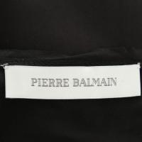 Pierre Balmain Kurzes Kleid in Schwarz