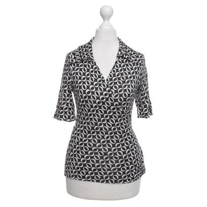 Diane von Furstenberg modello Wrap-shirt