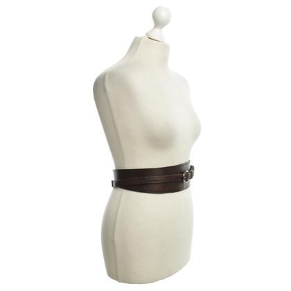 Sport Max Waist belt in brown