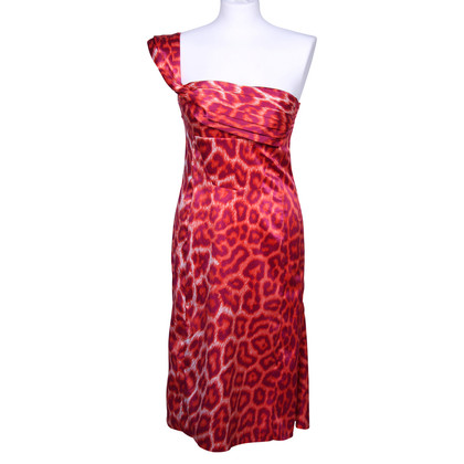 Just Cavalli Luipaard print jurk