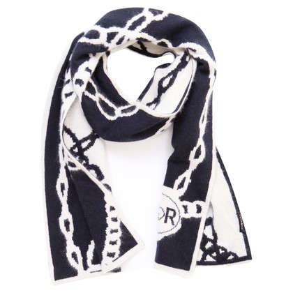 Viktor & Rolf scarf with chain pattern
