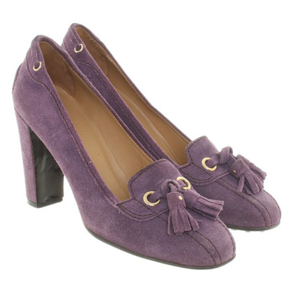 Car Shoe pumps in Viola