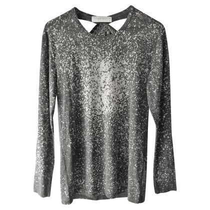 Iro Shirt in grey / white