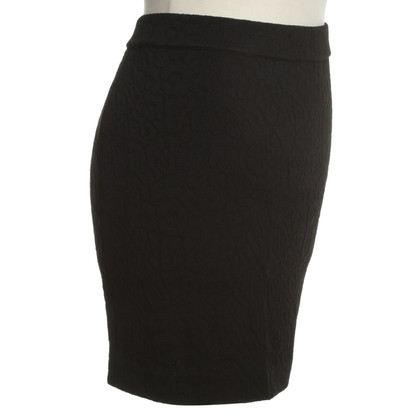 Givenchy Patterned Pencil Skirt in Black