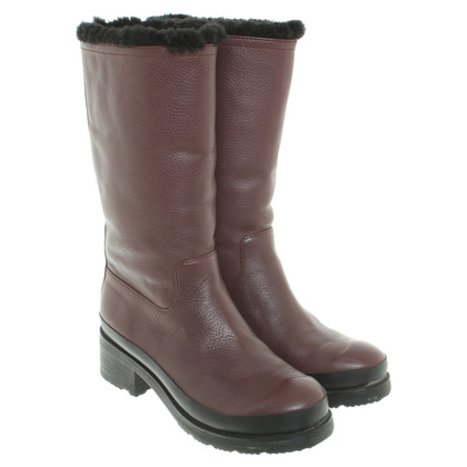 Hunter Boots in Bordeaux
