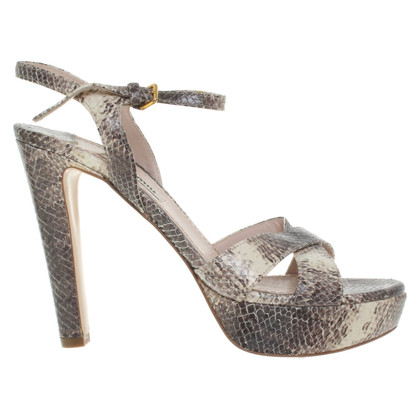 Miu Miu Sandals made of snakeskin