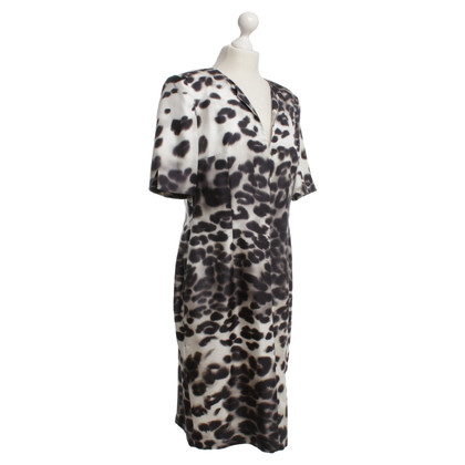 St. Emile Silk dress with animal print
