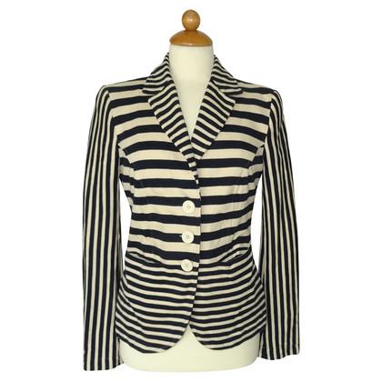 Moschino Love Striped blazer