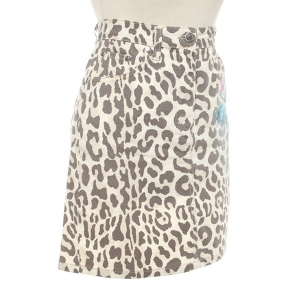 Blumarine skirt with animal design
