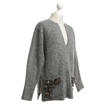 By Malene Birger Knit sweater in grey
