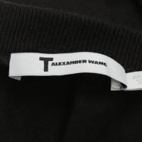 T by Alexander Wang Dress in black