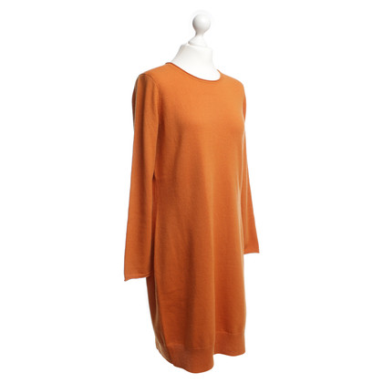 Iris von Arnim Cashmere dress in Orange