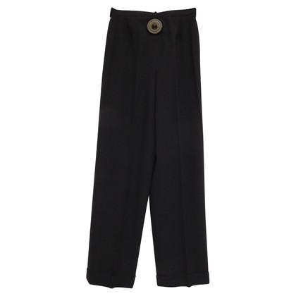 Chanel Vestito di pantaloni con bottoni logati