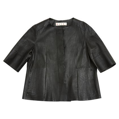 Marni Leder-Shirt