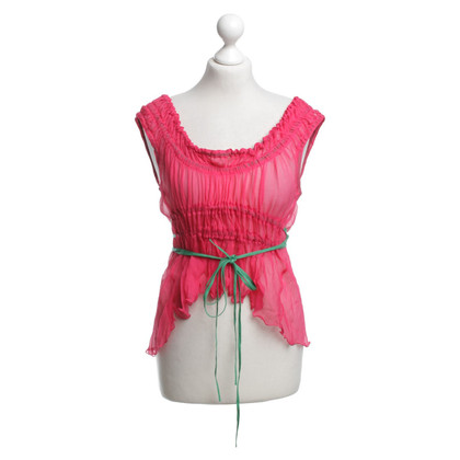 Philosophy di Alberta Ferretti Top in Pink