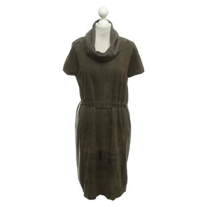 Fabiana Filippi Knit dress in taupe