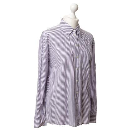 Van Laack Shirt met strepen ontwerp