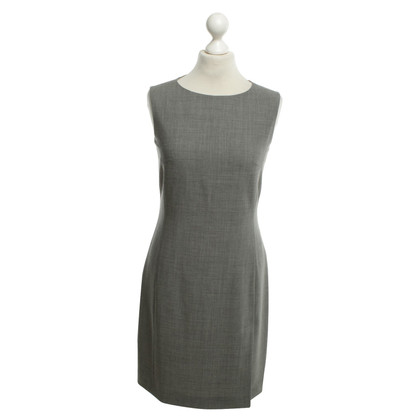 René Lezard Sheath dress in gray