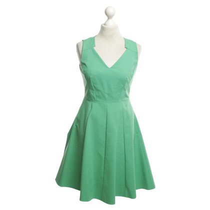 Karen Millen A-line dress in green