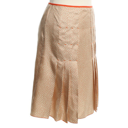 Paule Ka Fold skirt with dots